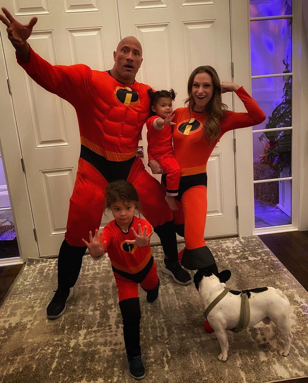 Dwayne Johnson Halloween 2020 Halloween 2019: Dwayne Johnson aka The Rock and his family are