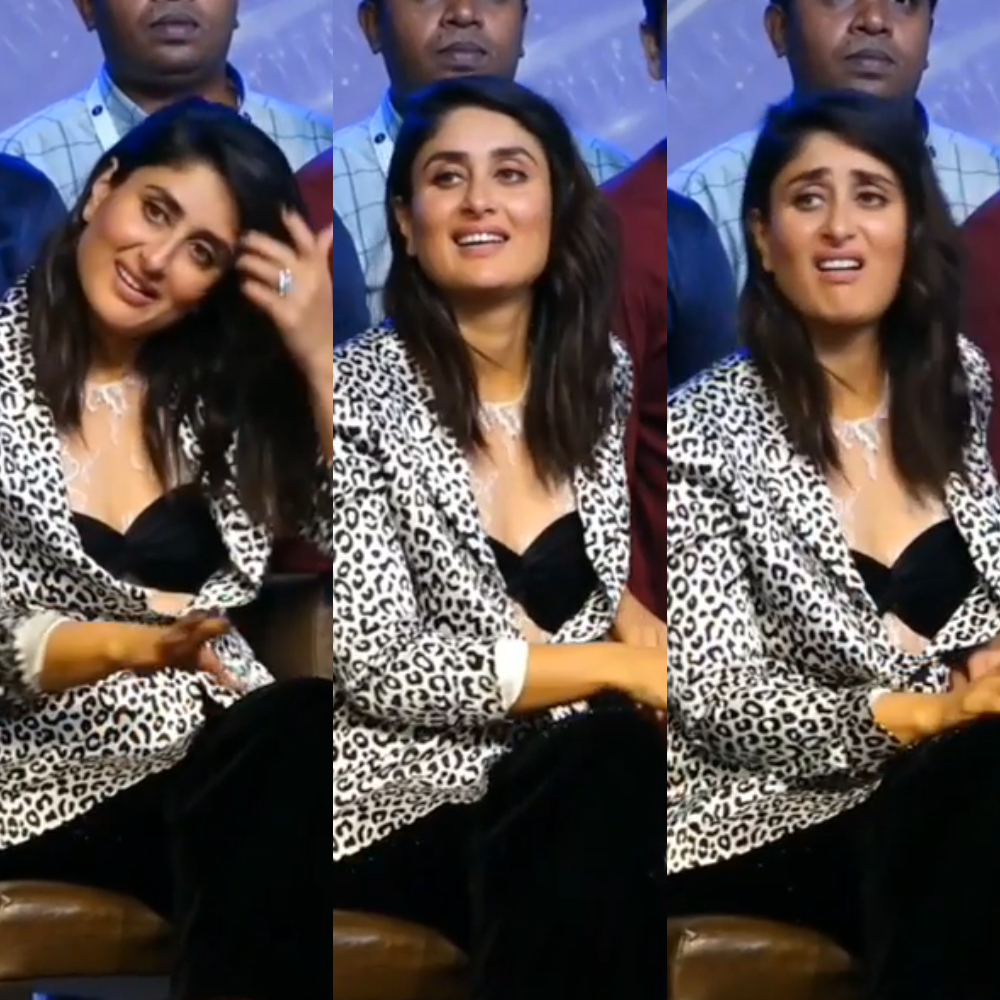 Here's why Kareena Kapoor Khan is known as the 'Queen of Expressions'; Watch Video
