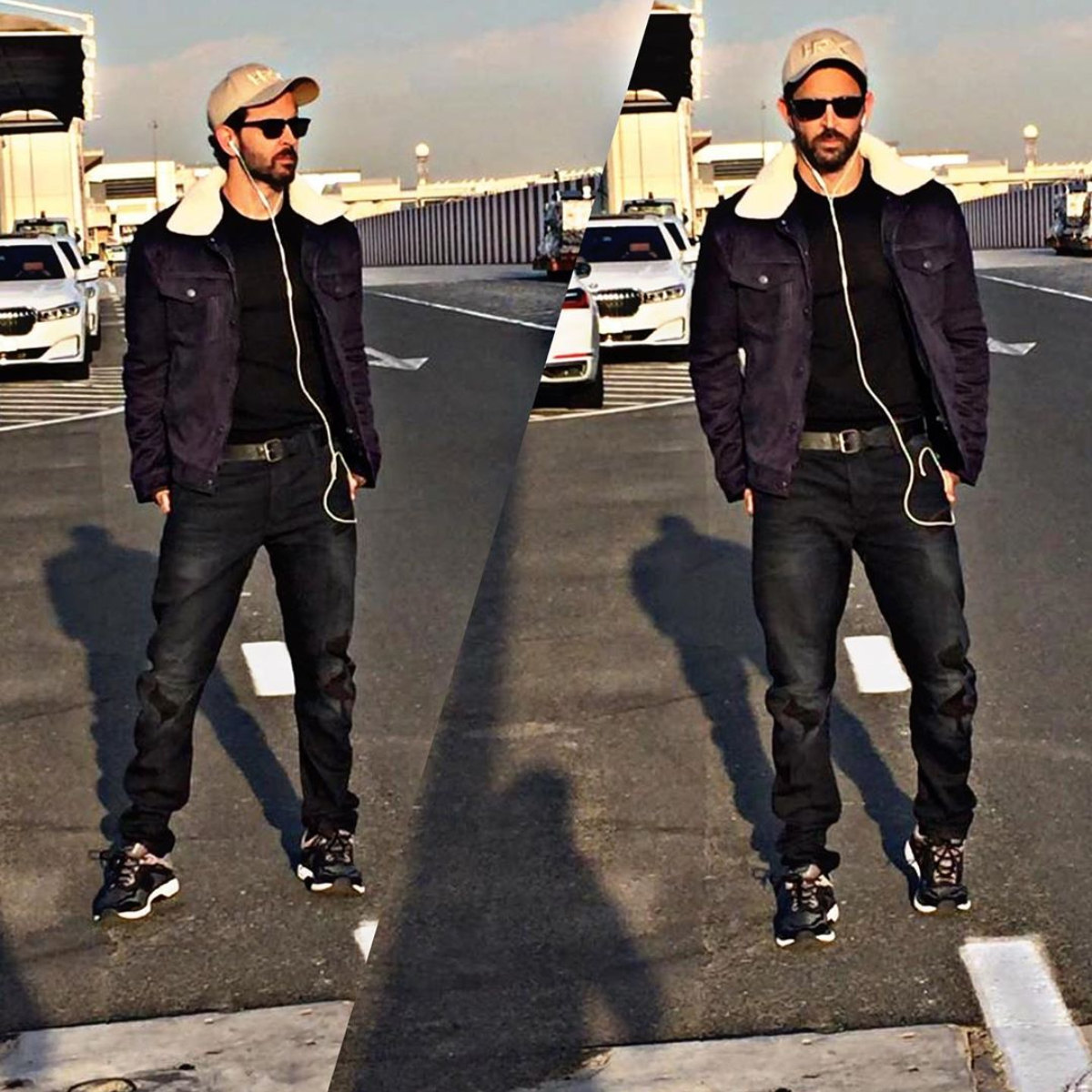 Photo: Hrithik Roshan ups his fashion quotient looking ultracool in an all black attire; Check it out