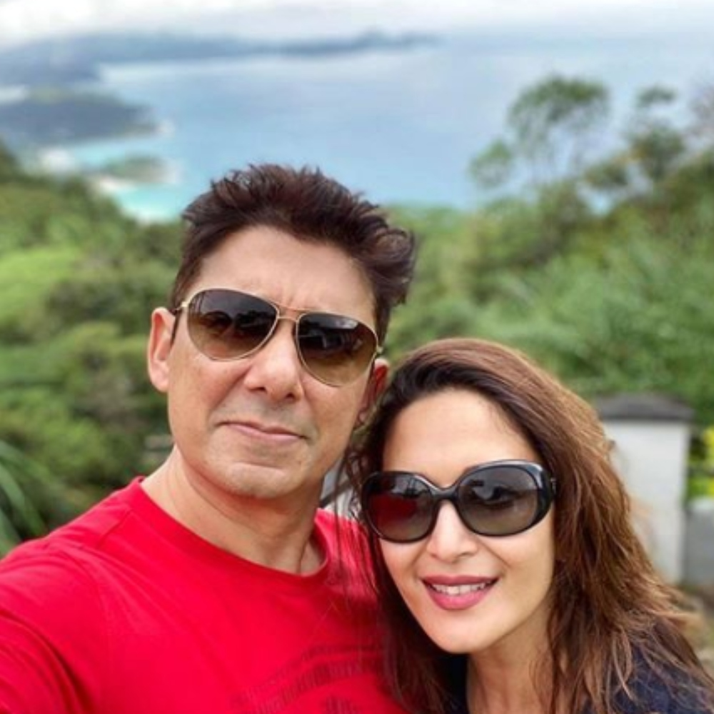 Madhuri Dixit shares a special note for husband Shriram Madhav Nene on their 20th anniversary; View Post