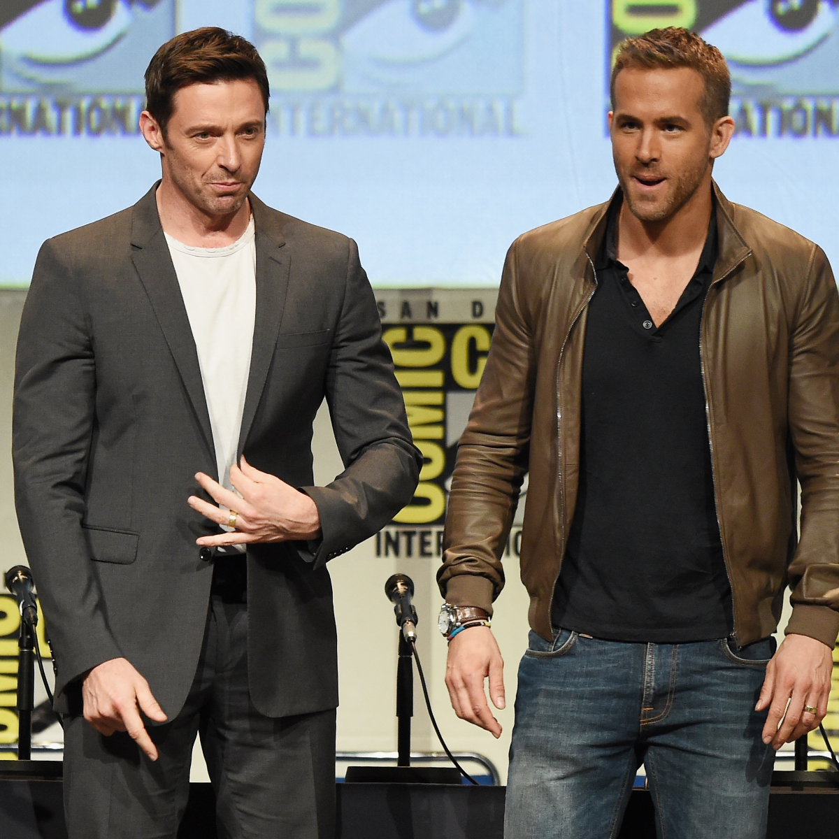 Hugh Jackman takes out his Wolverine claws in response to Ryan Reynolds' accusations