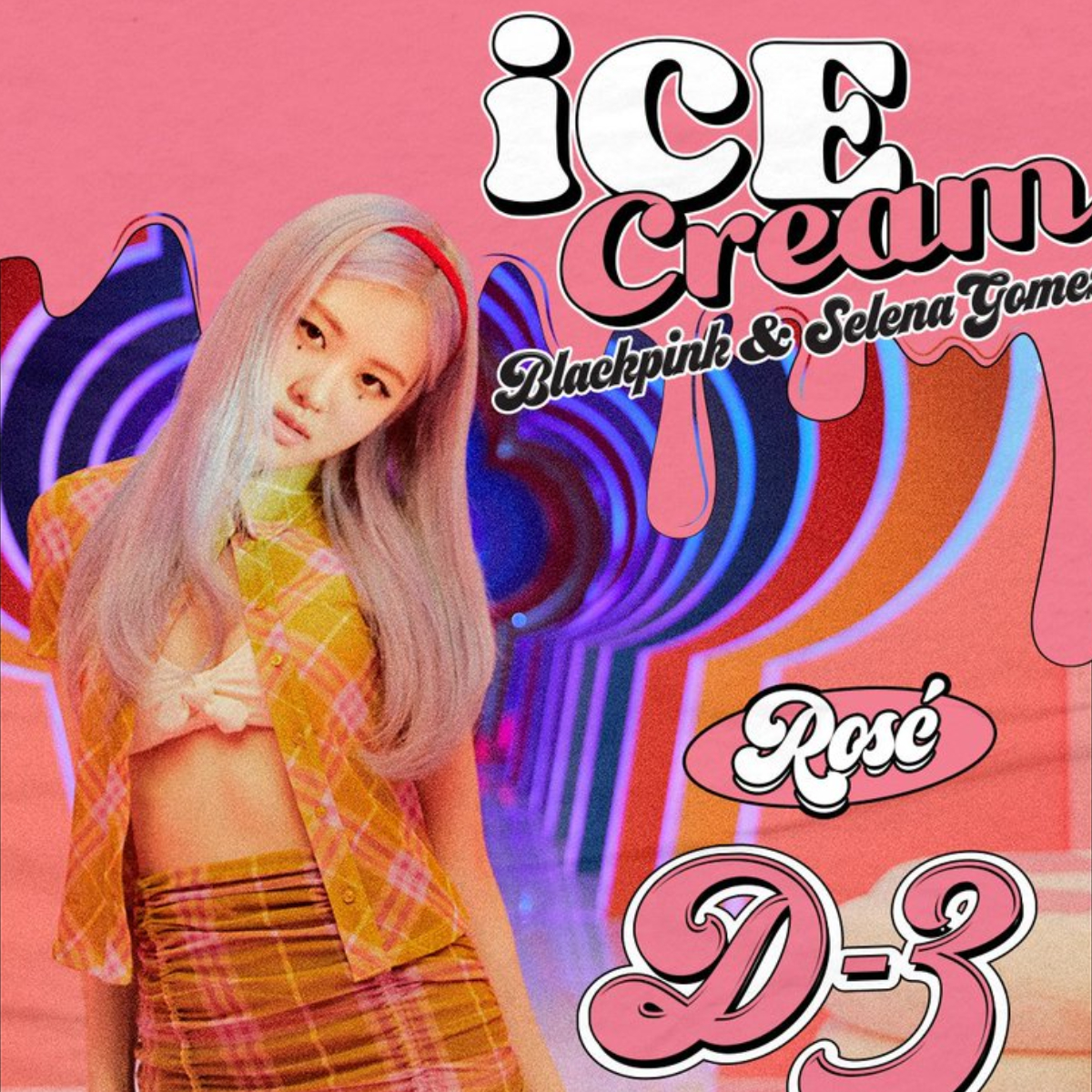 Ice Cream Blinks Impressed With Blackpink Member Rose As She Transforms A Plaid Top Into A Skirt In D3 Poster Pinkvilla
