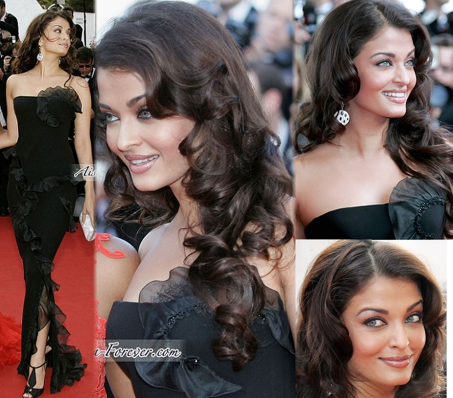 2006: As the L'Oreal Paris brand ambassador. Also her film Provoked was premiered here.