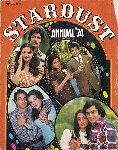 1972 Annual STARDUST - Hehehehe the time changed little bit the couples! but it's really sweet!