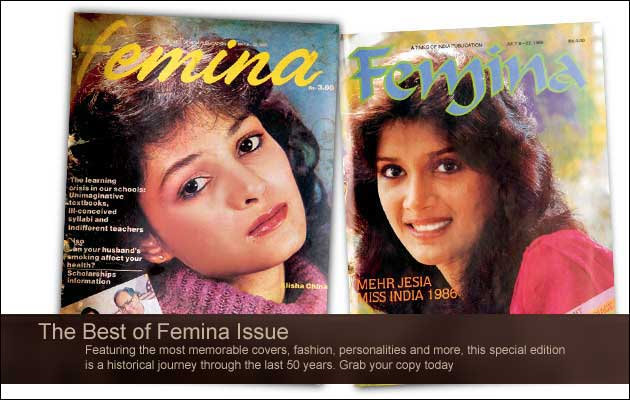 1980 FEMINA - OMG THAT'S MEHR...ARJUN RAMPAL'S WIFE!! SHE WAS SOOO CUTE!
