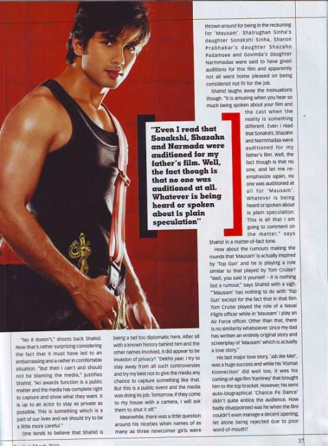 Shahid Kapoor's scan from Stardust (march 2010) 110216