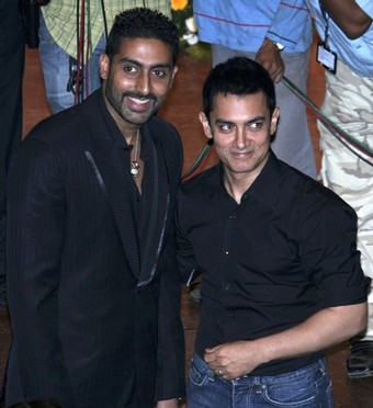 "340x 11 - Aish nd Abhi @ ""Bachchanalia"" lunch"