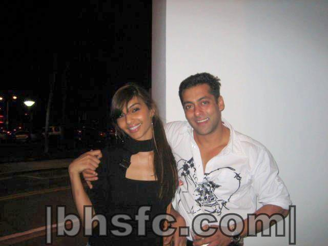 Salman Khan With His Ex-Gf Somy Ali