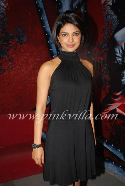 Priyanka Chopra & Uday Chopra promote Pyaar Impossible on DPL sets 100567