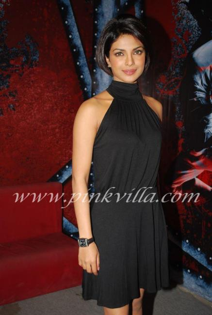 Priyanka Chopra & Uday Chopra promote Pyaar Impossible on DPL sets 100568