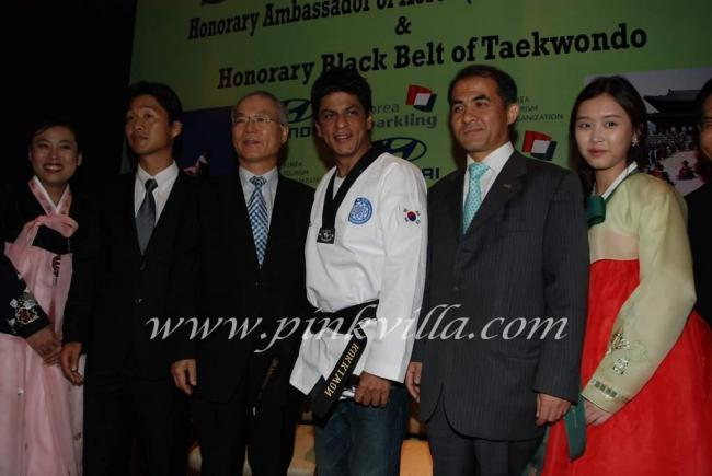 Shah Rukh Khan Appointed Honourary Ambassador of Korea in India