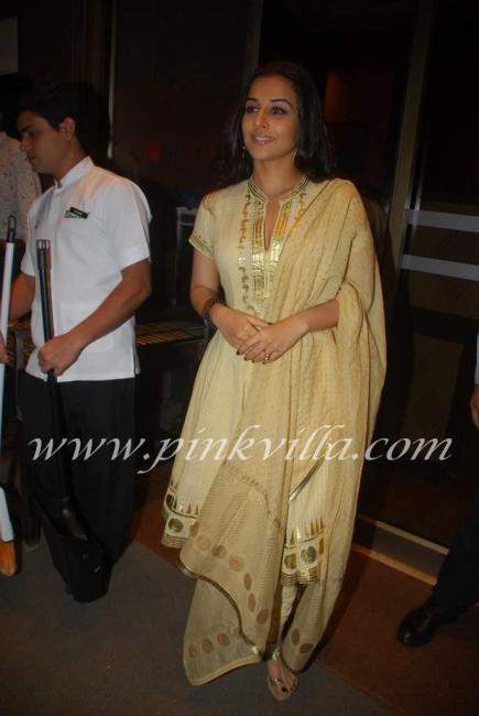 Vidya balan at Ramesh Taurani 39s 25th Wedding Anniversary