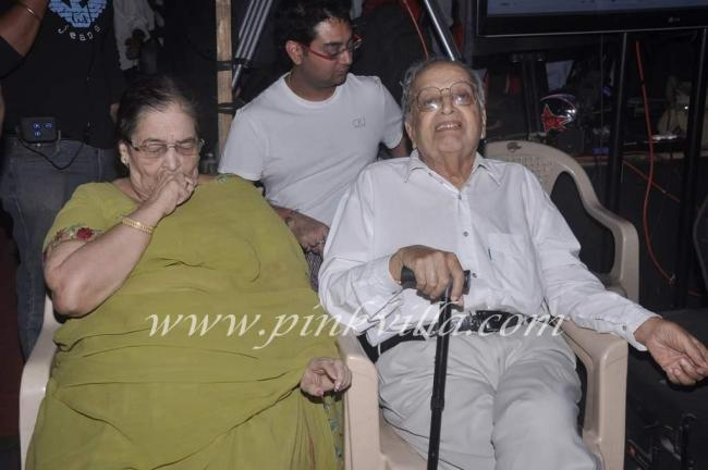 Madhuri's parents