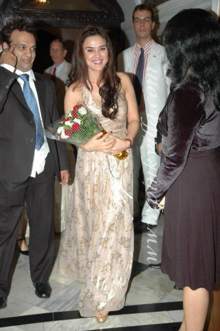 DSC 1018preview - Preity Zinta graces France Independence day celebr