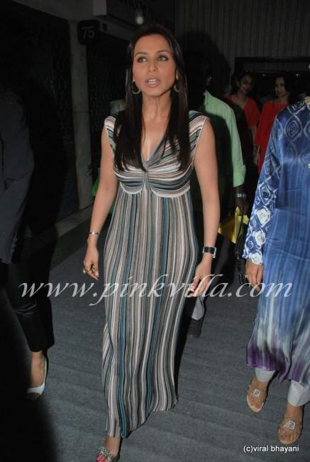 Rani Mukherjee inaugurates Sahacharis event  90971