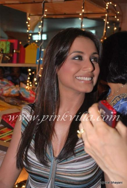 Rani Mukherjee inaugurates Sahacharis event  90969