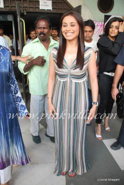 Rani Mukherjee inaugurates Sahacharis event  90976