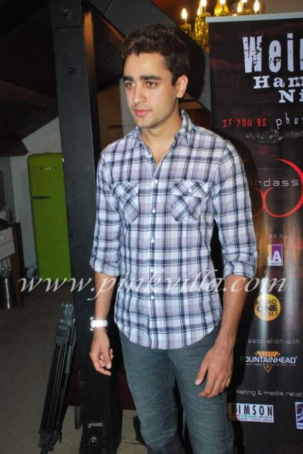 Imran khan at hamateur event by stand up comedian vir das