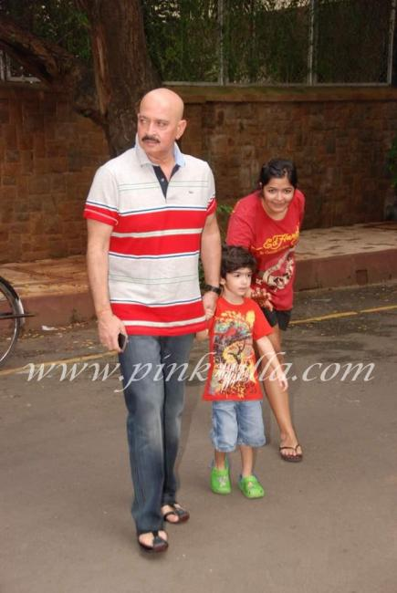 suranika and hrithik's son