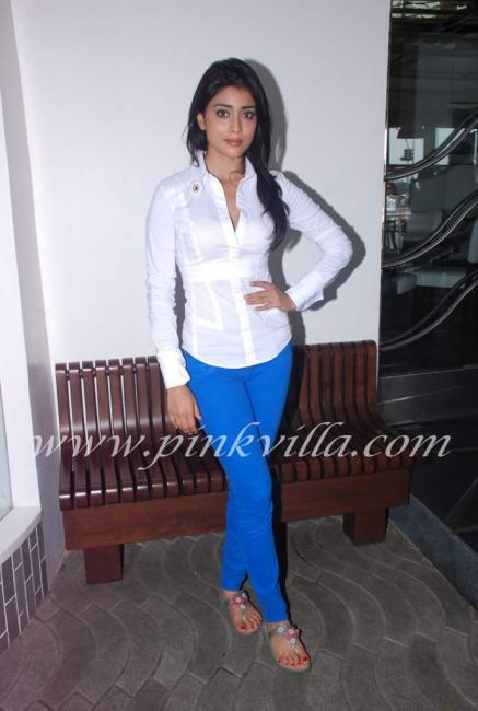 Shriya Jeans Shriya saran at the save