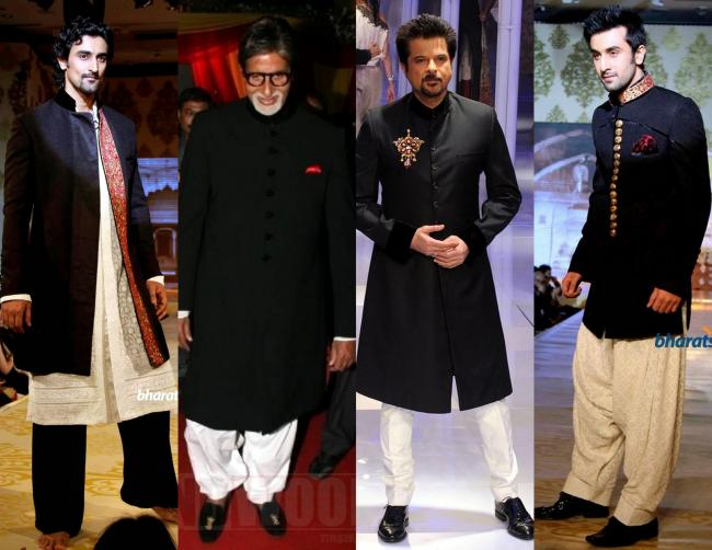 Timeless : Black&White: Kunal Kapoor and Ranbir Kapoor at Mijwan charity fashion show, Amitabh Bachchan at a wedding, Anil Kapoor at Delhi Couture Week 2010