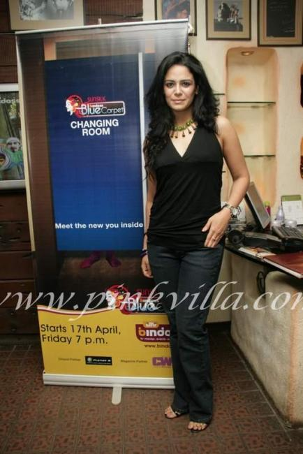 Mona singh gets a makeover by utv bindass and aalim hakim for Aalim hakim salon mumbai