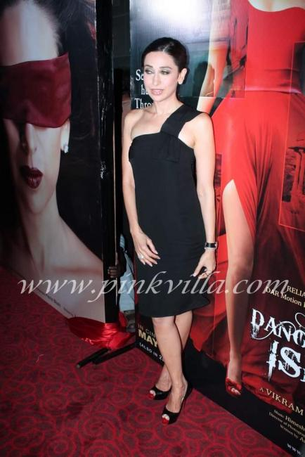 Karishma Kapoor at the first look launch of 'Dangerous ...