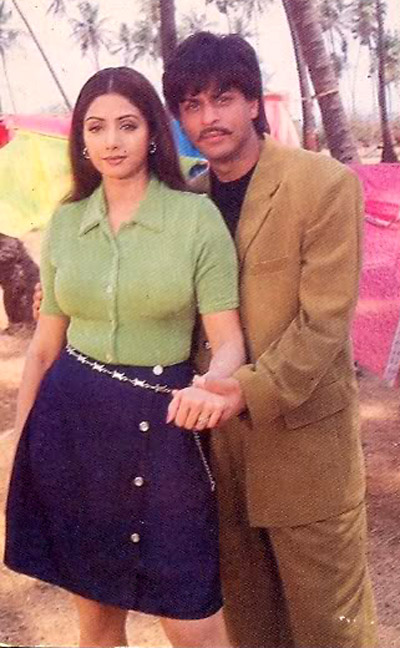 Shahrukh and Sridevi in Army