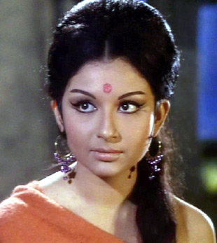 Sharmila Tagore (ARADHANA): She was Bollywood's first woman star to flaunt a bikini perfect body, but it was only after establishing herself as a revered actress as Vandana in Aradhana, that she became the 'sapno ki rani' overnight and gave millions sleepless nights.