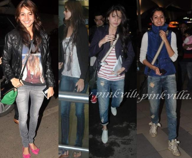 Anushka Sharma: With her crossbody bag & her beautiful smile.