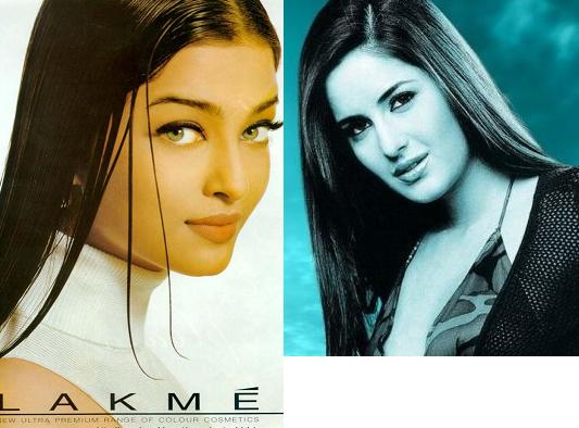 both were LAKME QUEENS