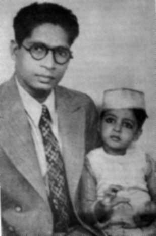 Amitabh and his Father