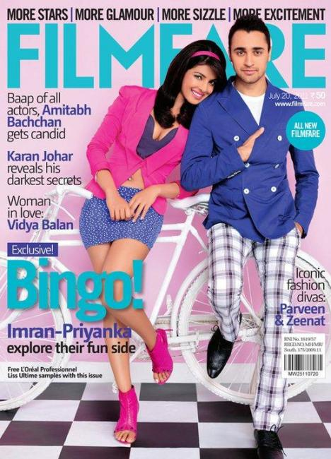 14) Imran Khan and Priyanka Chopra, July 2011