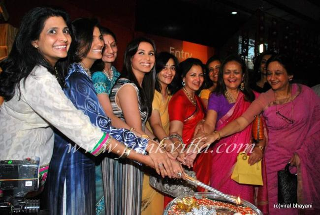 Rani Mukherjee inaugurates Sahacharis event  90985
