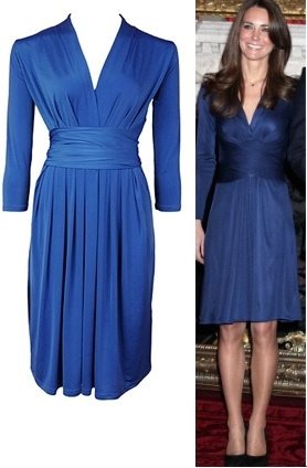 You might also remember the dress on Kate Middleton