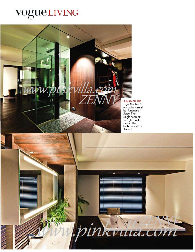 John Abraham 39 S New House 39 S Picture Vogue March 2011