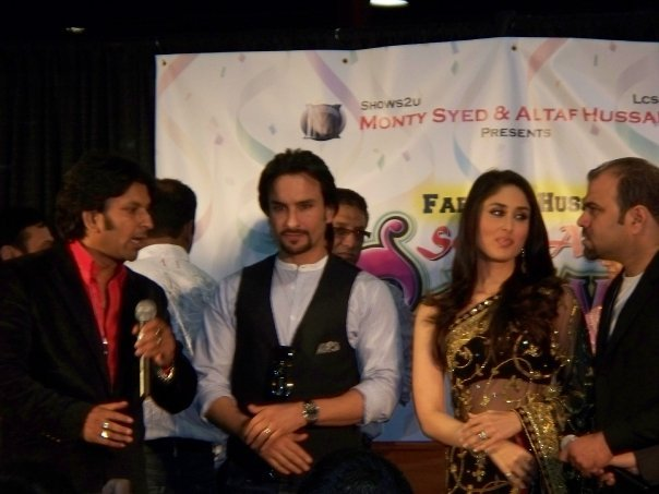 Kareena Kapoor & Saif Ali Khan at the South Asian Carnival - Chicago 89532