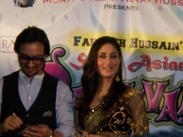 Kareena Kapoor & Saif Ali Khan at the South Asian Carnival - Chicago 89535