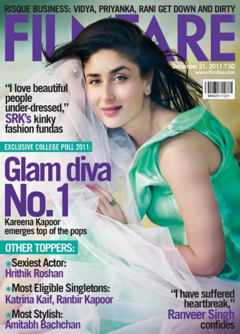26) Kareena Kapoor, December 2011