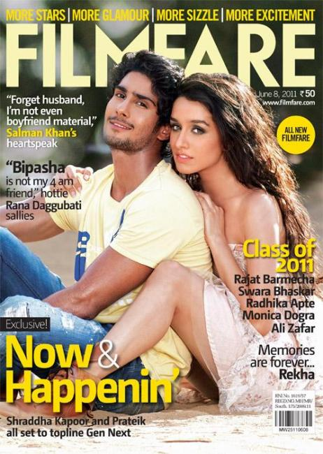 16) Shraddha Kapoor and Prateik, June 2011