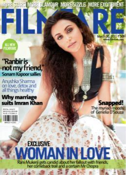 9)Rani Mukerji, March 2011