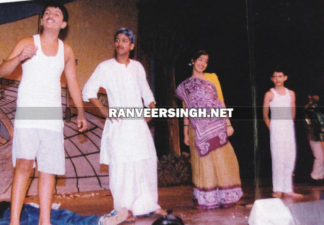 Ranveer @ a school play