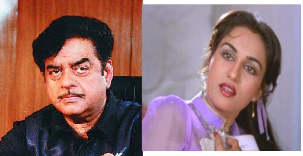 Shatrughan Sinha & Reena Roy: Reena's mom once said that Shatrughan betrayed her.  She also said that Reena would've been fine as a second wife...I don't know if I believe that.