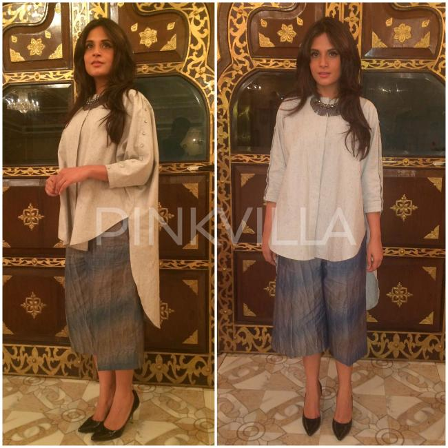 style file richa chadha steps up her fashion game for 39 masaan 39 promotions pinkvilla. Black Bedroom Furniture Sets. Home Design Ideas