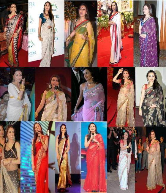 Saree all the time