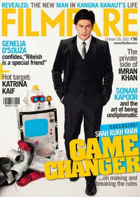 23) Shahrukh Khan, October 2011