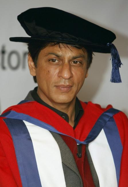 Shahrukh khan receives Doctorate from University of ...