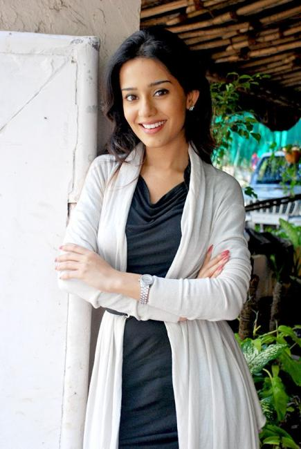 Amrita Rao meets media for Welcome to Sajjanpur 46926
