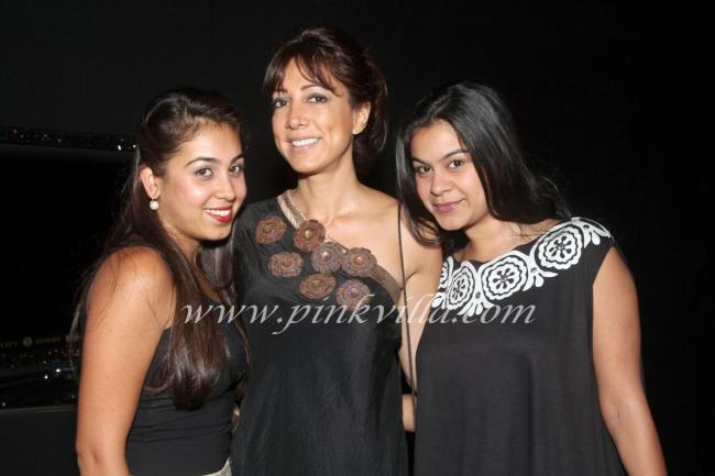 Malini Ramani, Ayesha Dhakar and a friend
