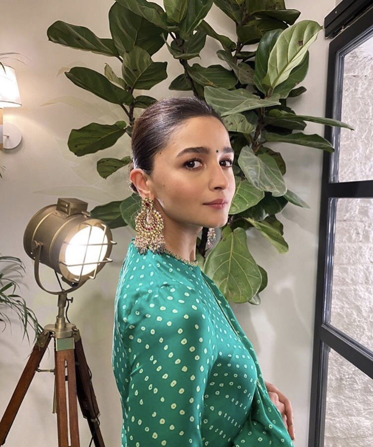 Alia Bhatt's bandhani Sabyasachi outfit is what you need for this wedding season; Yay or Nay?